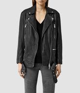 AllSaints Laurel Leather Biker Jacket
