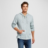 Mossimo Men's Hooded Long Sleeve Henley