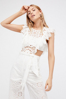 Nightcap Clothing Eyelet Jumpsuit by at Free People