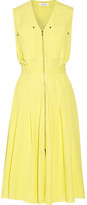 Thierry Mugler Cloqué Dress - Bright yellow
