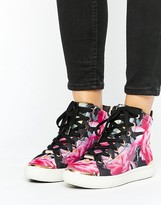 Ted Baker Floral HiTop Sneaker