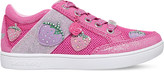 Lelli Kelly Kids Fragola 2 mesh and leather trainers 4-9 years