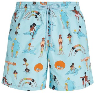 Vilebrequin Animated Swim Shorts