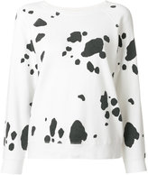 Marc Jacobs spot printed sweatshirt - women - Cotton - S