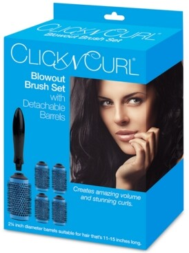 "Bio Ionic Click N Curl 2.25"" Blowout Brush Set Bedding"