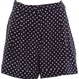 Prada \N Navy Silk Shorts