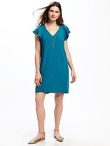 Old Navy Flutter-Sleeve Shift Dress for Women