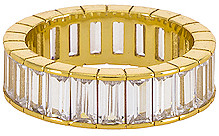 The M Jewelers NY The Baguette Eternity Band