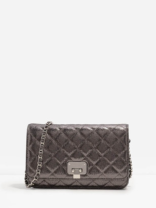 Charles & Keith Quilted Clutch