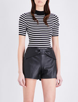 Claudie Pierlot Ming cotton-blend jumper