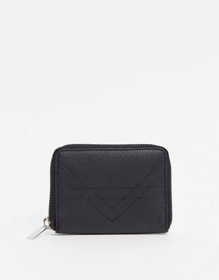 Urban Code Urbancode real leather zip around purse