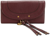See by Chloe long tassle wallet - women - Cotton/Calf Leather - One Size