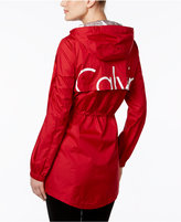 Calvin Klein Hooded Logo Windbreaker