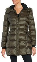Bernardo Wellon Faux Fur-Trimmed Puffer Coat