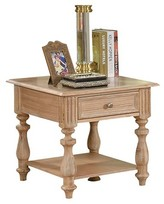 Acme Shantoria End Table White Washed