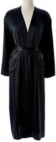 Thumbnail for your product : Kumi Kookoon Single-Sided Long Robe - Midnight Large - Black
