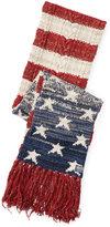 Ralph Lauren Flag Wool-blend Scarf