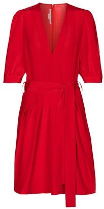 Stella McCartney Jordan silk minidress