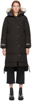 Canada Goose Black Down Black Label Aldridge Parka