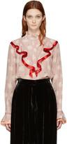 Stella McCartney Pink Swan Shirt