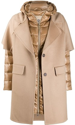 Herno Layered Hooded Coat