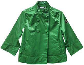 Colmar Green Trench Coat for Women