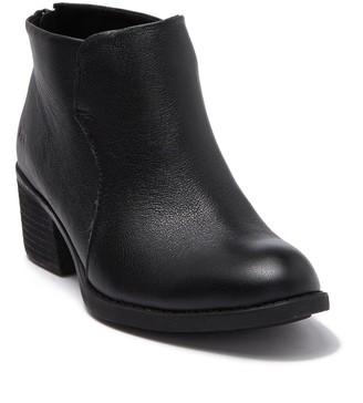 Børn Bushey Leather Block Heel Bootie