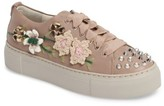 AGL Women's Flower Embellished Sneaker