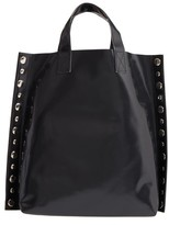 Comme des Garcons Studded Faux Leather Tote - Black