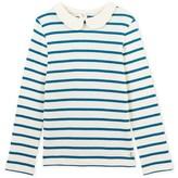 Petit Bateau Girls long-sleeved striped T-shirt