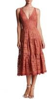Dress the Population Women's Madelyn Lace Midi Dress