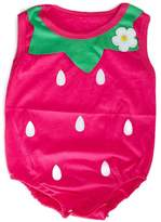 Addison's Anthem Strawberry Romper (3 to 6 months)