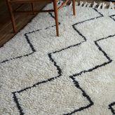 west elm Souk Wool Rug - Ivory