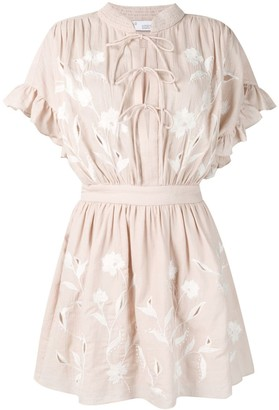IRO ruffled mini dress