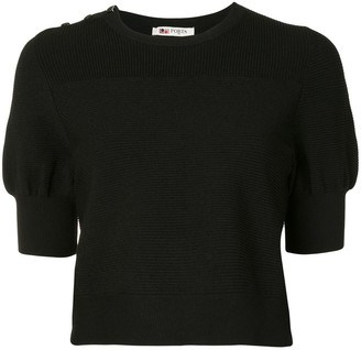 Ports 1961 ribbed-knit T-shirt