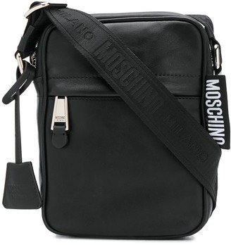 Moschino Leather Messenger Bag