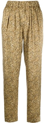 Forte Forte Geometric Print Trousers