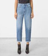 AllSaints Nat High Waist Boyfriend Jeans