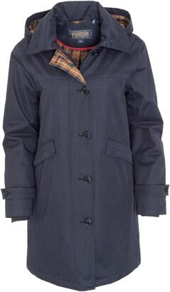 Pendleton Eastlake Plaid Lining Hooded Raincoat