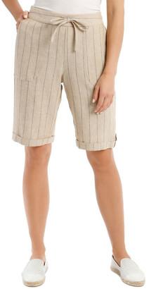 Regatta Tie-Waist Cuffed Shorts