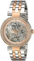 Kenneth Cole New York Women's ' Automatic Stainless Steel Dress Watch, Color:Two Tone (Model: 10030806)