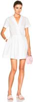 Sea Cotton Popover Dress