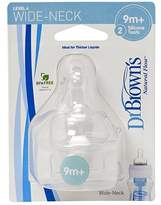 Dr Browns Dr Brown's Silicone Teats Level 1 2 3 and 4 by Dr. Brown's