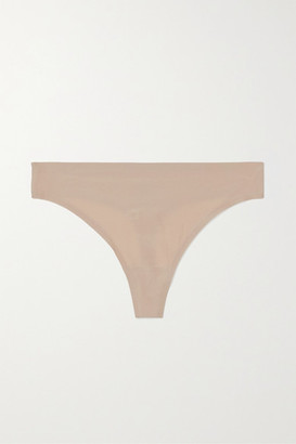 Chantelle Soft Stretch Jersey Thong - Neutral