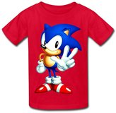 Refire Sonic The Hedgehog Kid's Sonic The Hedgehog Cotton T-shirt