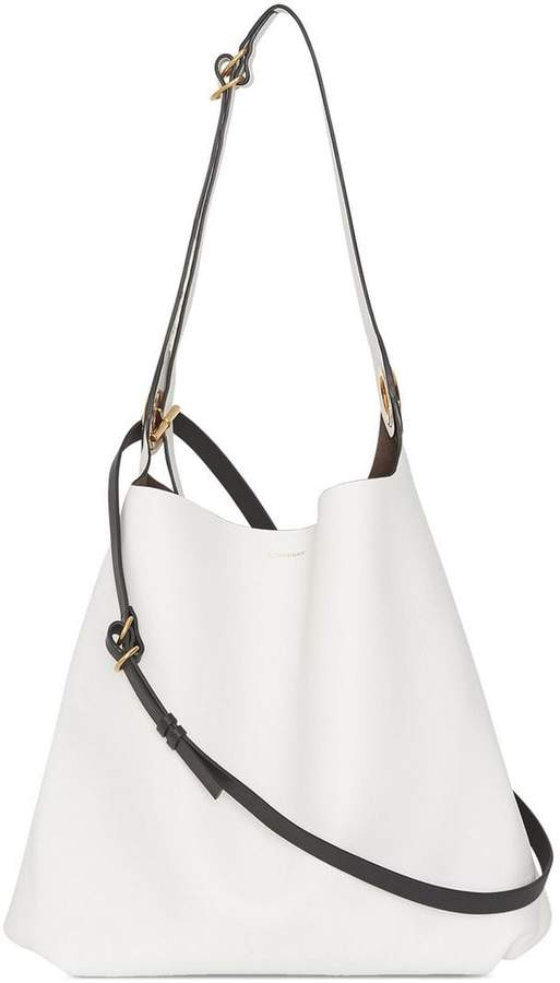 Burberry The Leather Grommet Detail Bag