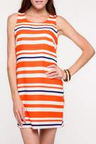 Everly Auburn Shift Dress
