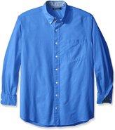 Nautica Men's Big-Tall Solid Oxford Shirt