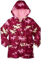 Hatley Fairy Tale Horses Raincoat (Toddler/Kid) - Pink - 8