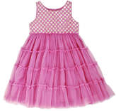 Cupcakes & Pastries Tiered Tulle Dress